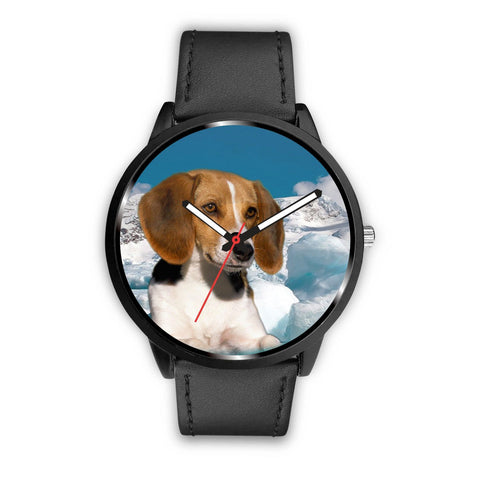 Cute American Foxhound Dog Print Wrist Watch - Free Shipping