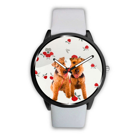 Cute Welsh Terrier Dog Print Wrist Watch-Free Shipping