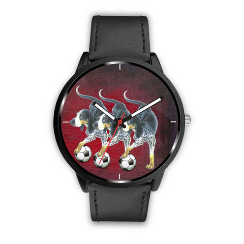Awesome Bluetick Coonhound Dog Print Wrist Watch-Free Shipping