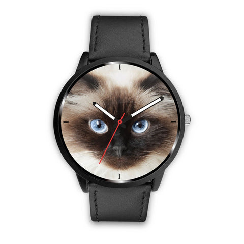 Himalayan cat Face Print Wrist Watch-Free Shipping