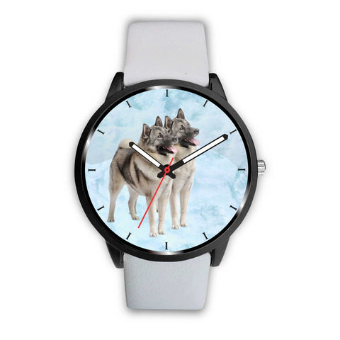 Norwegian Elkhound dog Print Wrist Watch-Free Shipping