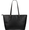 Don't Give Up- Small Leather Tote Bag- Free Shipping