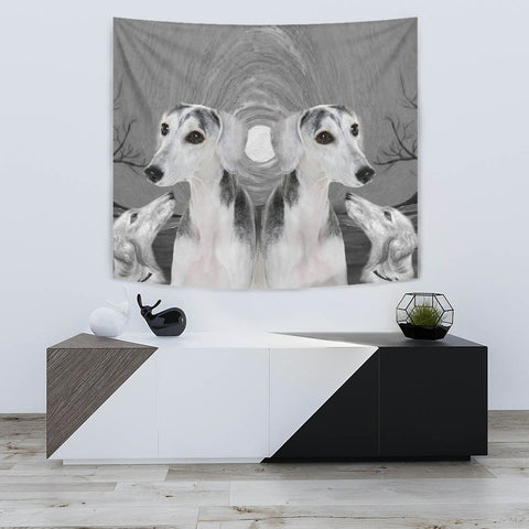Saluki Dog Art Print Tapestry-Free Shipping