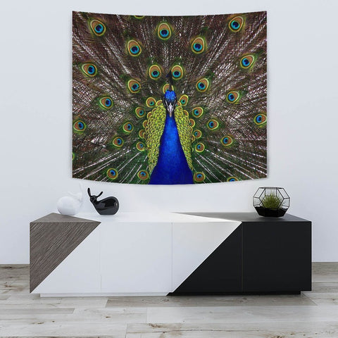 Amazing Peacock Bird Print Tapestry-Free Shipping