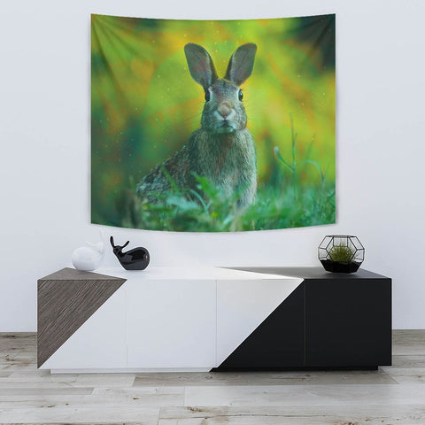 Cute Rabbit Print Tapestry-Free Shipping