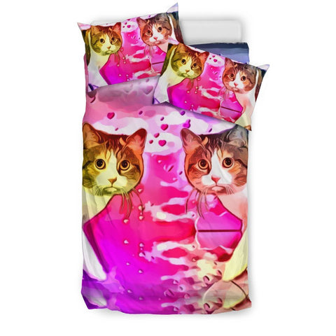 Manx cat Print Bedding Set-Free Shipping