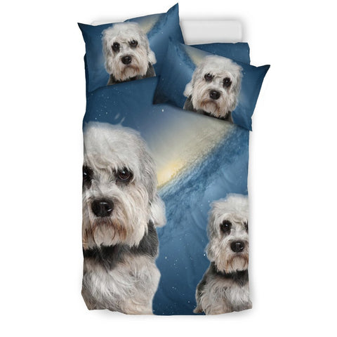 Dandie Dinmont Terrier Print Bedding Set- Free Shipping
