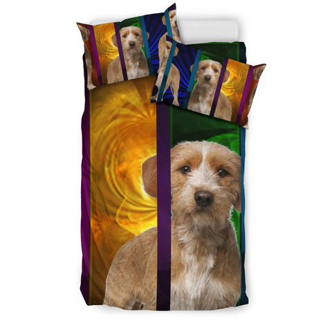 Basset Fauve De Bretagne Dog Canvas Print Bedding Sets-Free Shipping