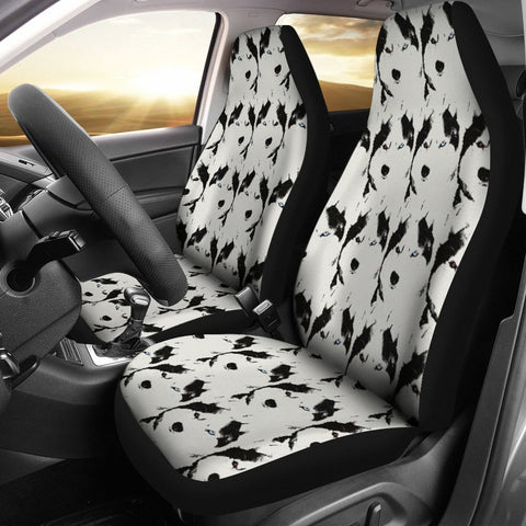 Amazing Siberian Husky Dog Print Car Seat Covers-Free Shipping