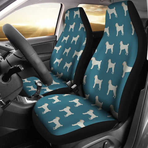 Chinese Shar Pei Dog Pattern Print Car Seat Covers-Free Shipping