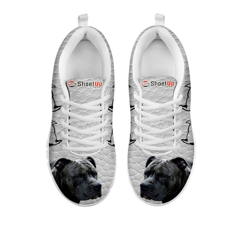 Amazing Pitbull  Dog-Women's Running Shoes-Free Shipping-For 24 Hours Only