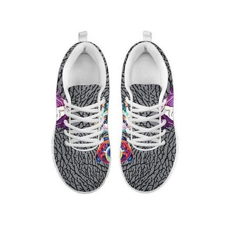 Painted Bulldog Print Running Shoes For Women-Free Shipping-For 24 Hours Only