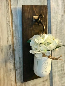 Rustic Mason Jar Holders