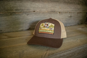 Northern Bobwhite Quail Conservation Cap
