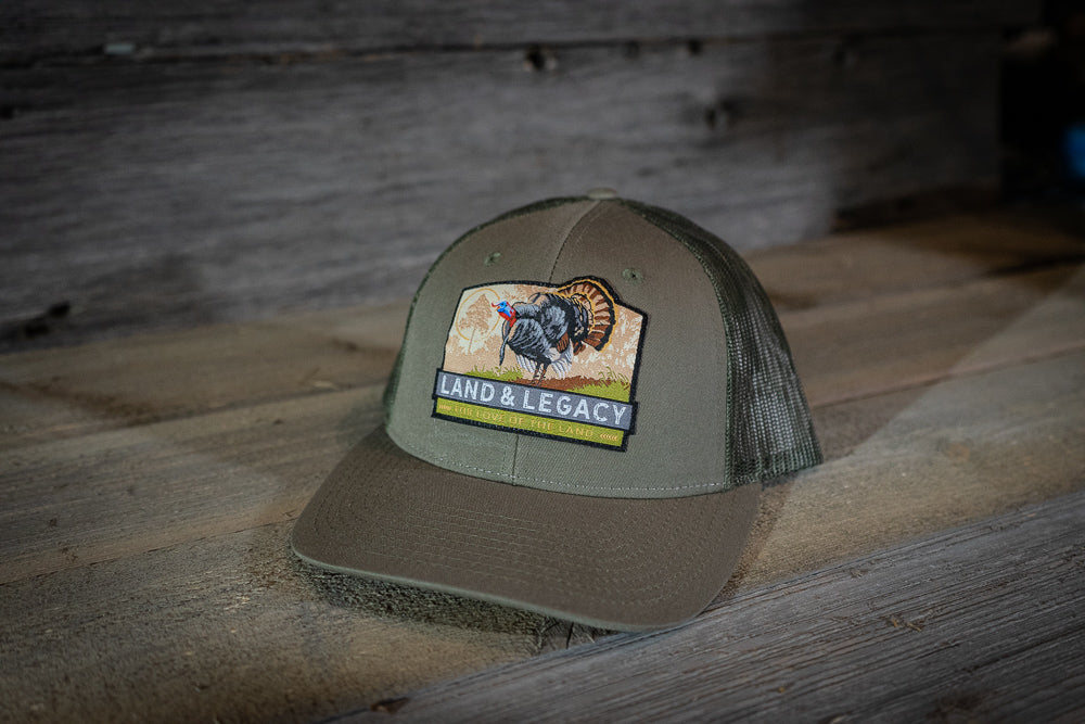 Wild Turkey Conservation Cap - Loden Green