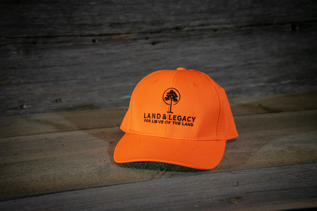 Blaze Orange  - Logo Cap