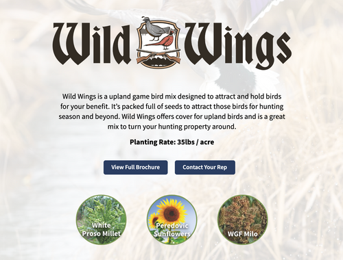 Wild Wings - Upland Bird Blend