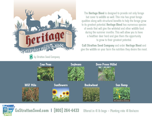 Stratton Seed Heritage Blend