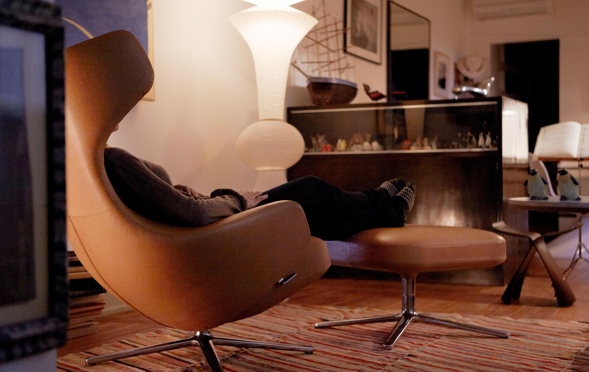 Vitra Sessel Lounge Chair, Repos, Grand Repos und Slow Chair online kaufen bei LIVINGforme.de