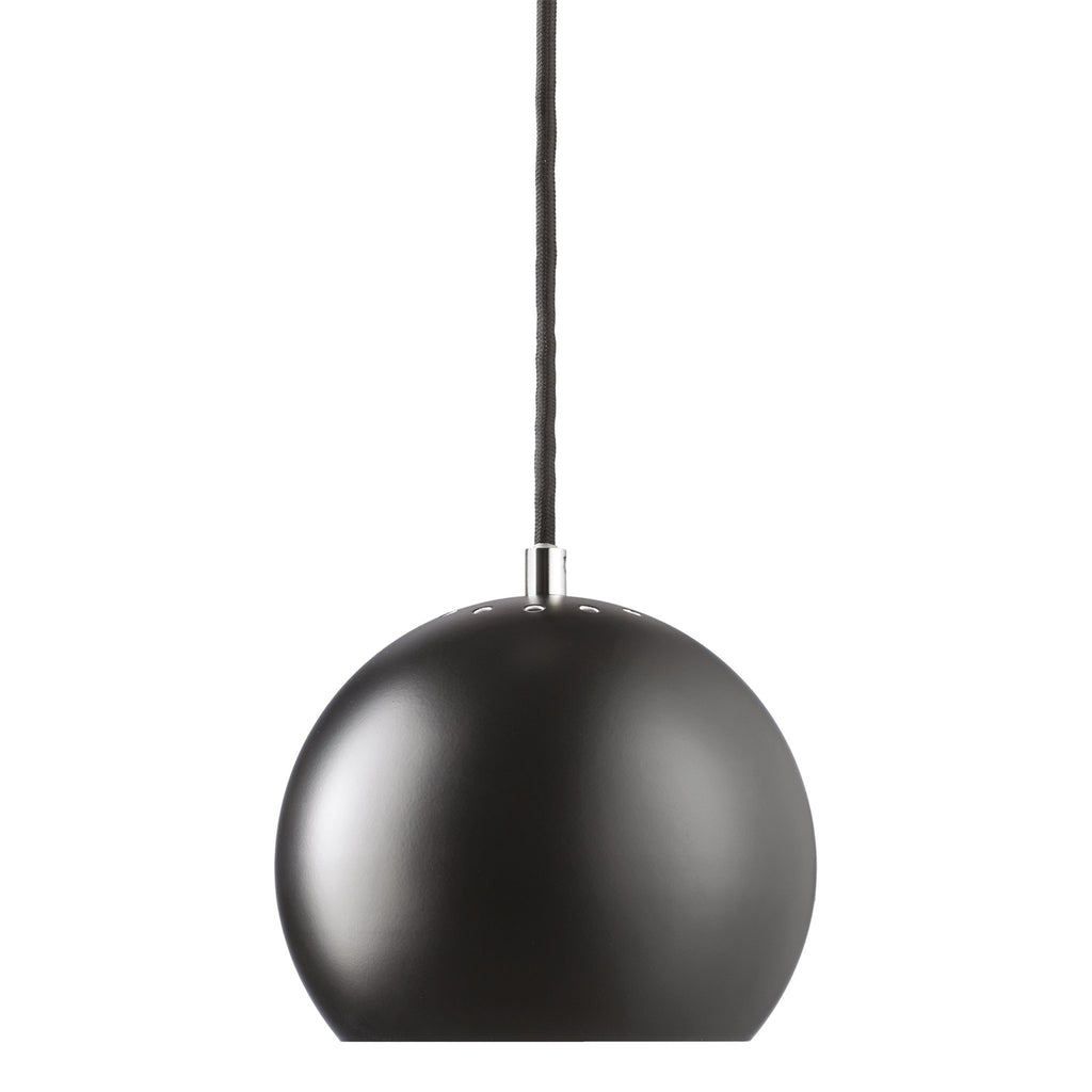 Pendelleuchte | Ball Black Matt