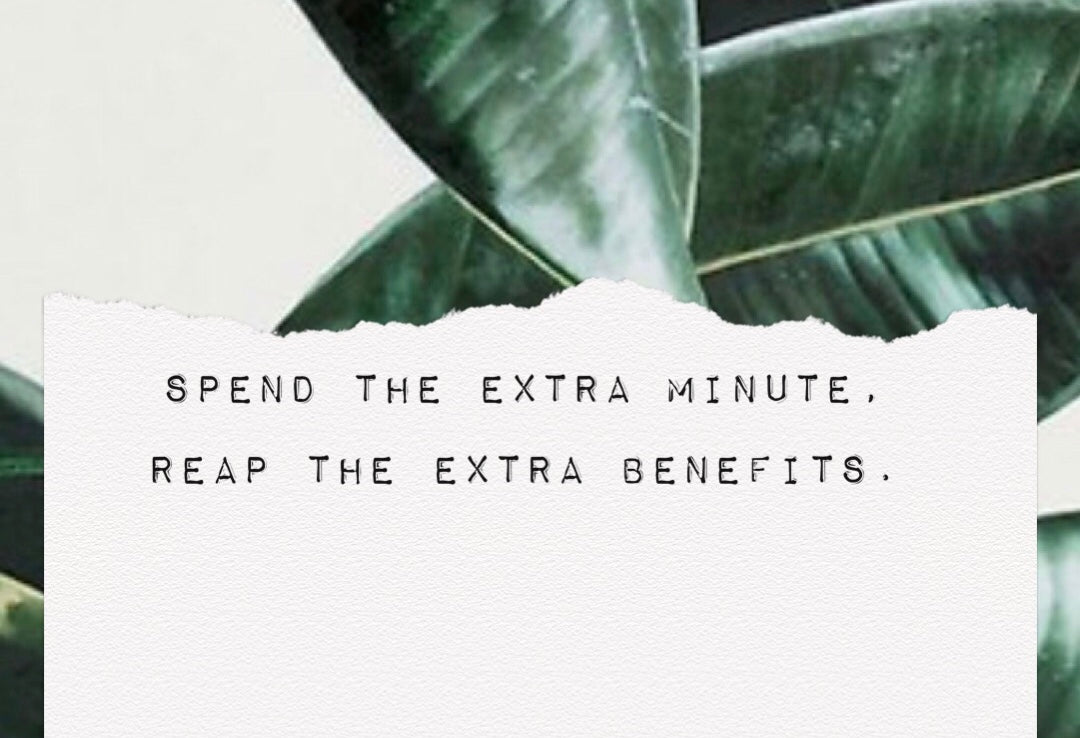 The Difference of the Extra Minute