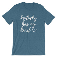 Load image into Gallery viewer, Kentucky Has My Heart T-Shirt - T-Shirt - The Brown Barrel