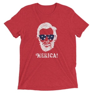 Abe Lincoln 'Merica T-shirt - T-Shirt - The Brown Barrel
