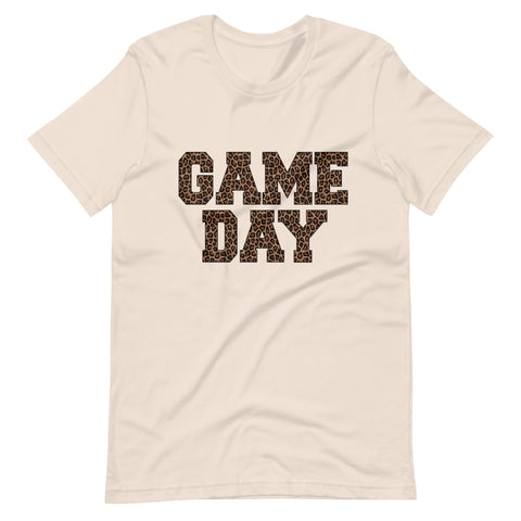 Cheetah Game Day Short-Sleeve Unisex T-Shirt