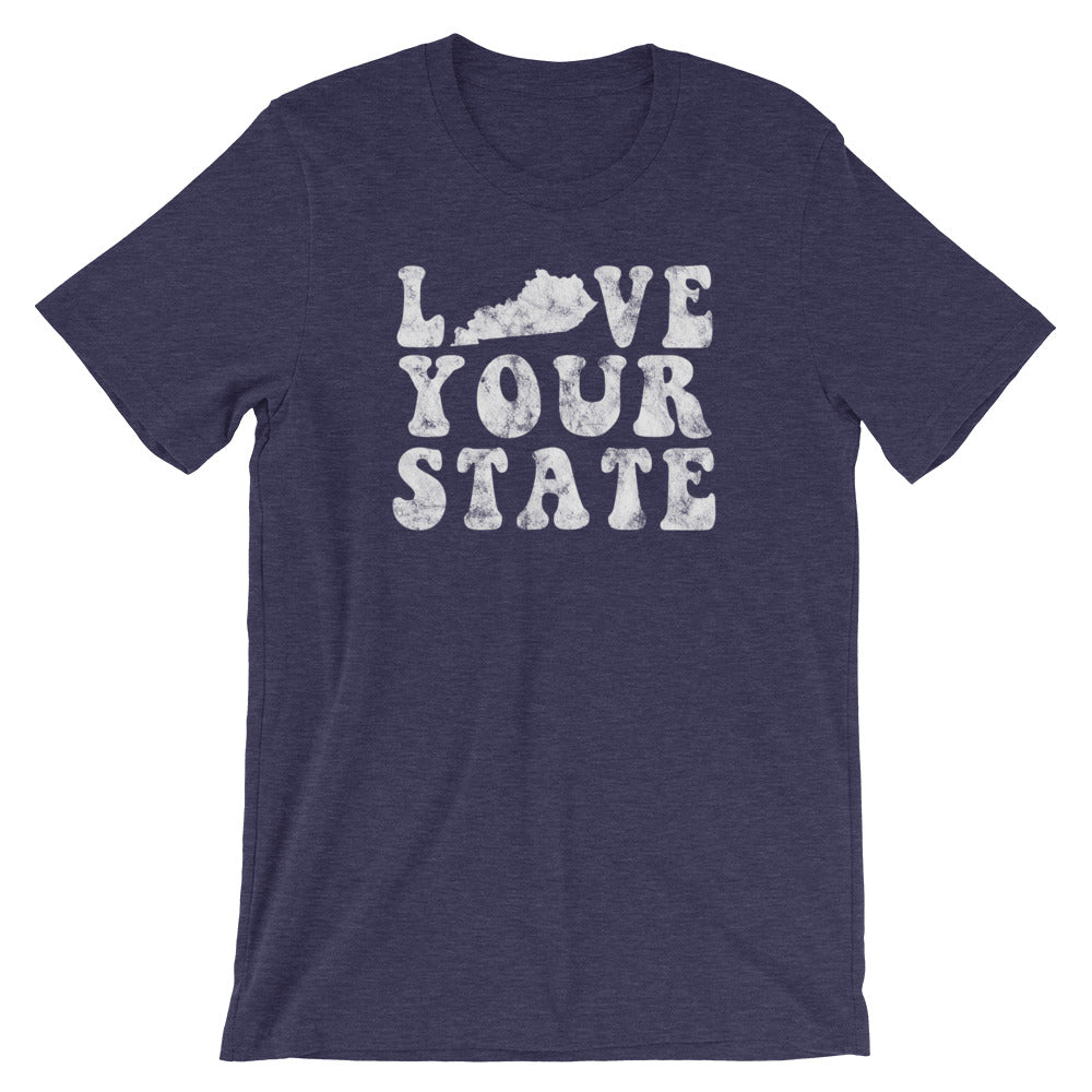 Love Your State T-Shirt - T-Shirt - The Brown Barrel