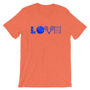 Love Tennis (Blue) T-Shirt - T-Shirt - The Brown Barrel