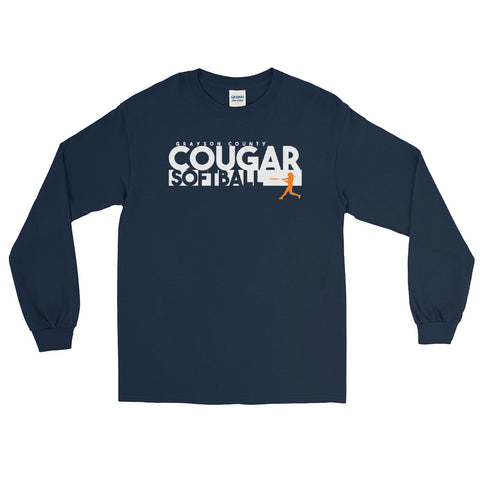 Cougar Softball Long Sleeve Shirt