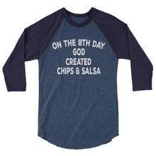 Load image into Gallery viewer, Chips & Salsa Raglan Shirt - Raglan Shirt - The Brown Barrel