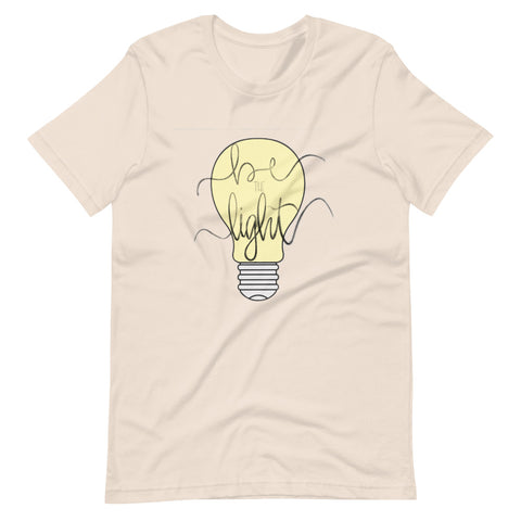 Be The Light Doodle Short-Sleeve Unisex T-Shirt