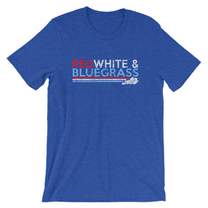 Red White & Bluegrass T-Shirt - T-Shirt - The Brown Barrel