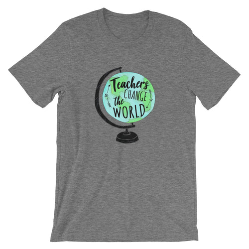 Teachers Change the World T-Shirt -  - The Brown Barrel