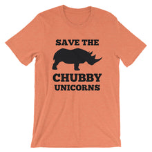 Load image into Gallery viewer, Save the Chubby Unicorns T-Shirt -  - The Brown Barrel