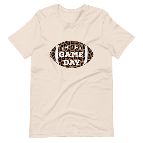 Cheetah Football Game Day Short-Sleeve Unisex T-Shirt