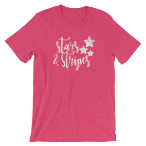 Stars and Stripes T-Shirt - T-Shirt - The Brown Barrel