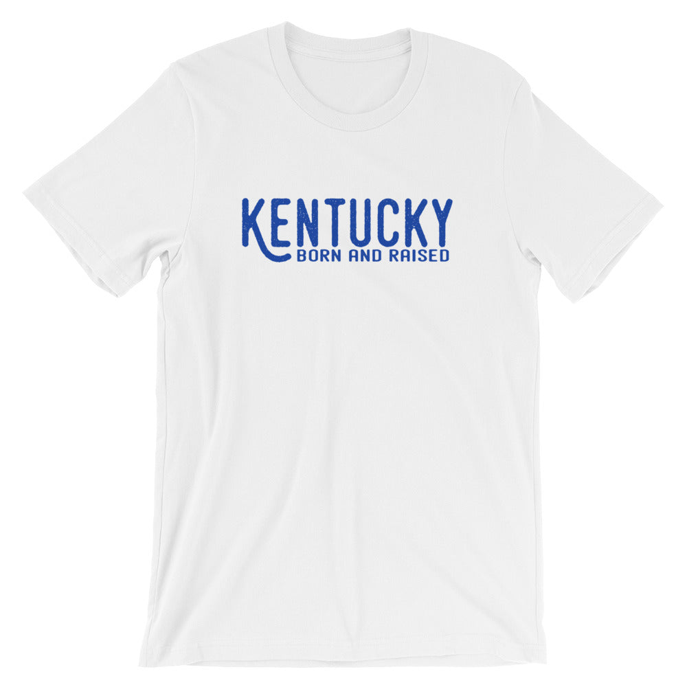 Kentucky Born & Raised T-Shirt - T-Shirt - The Brown Barrel