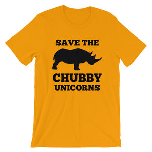 Save the Chubby Unicorns T-Shirt -  - The Brown Barrel