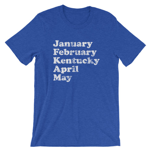 Jan Feb Kentucky T-Shirt