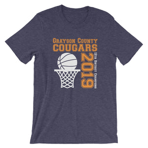 GCHS Basketball District Champs Unisex T-Shirt - T-Shirt - The Brown Barrel