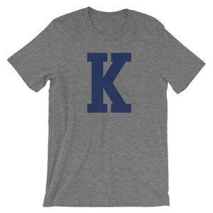 "The ""K"" T-Shirt - T-Shirt - The Brown Barrel"
