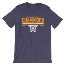 Load image into Gallery viewer, Grayson County District Champs (Blue) Unisex T-Shirt - T-Shirt - The Brown Barrel