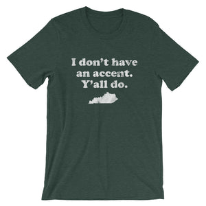Kentucky Accent T-Shirt - T-Shirt - The Brown Barrel
