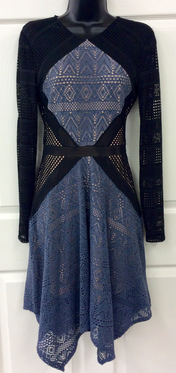 BCBG Max Azria Women's Chelsee Knit Cocktail Dress Size XS New