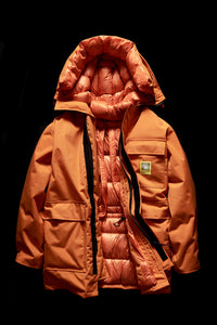 DOWN PARKA- ORANGE