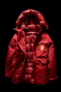 DOWN PARKA- RED