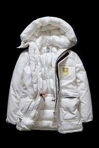 DOWN PARKA- WHITE