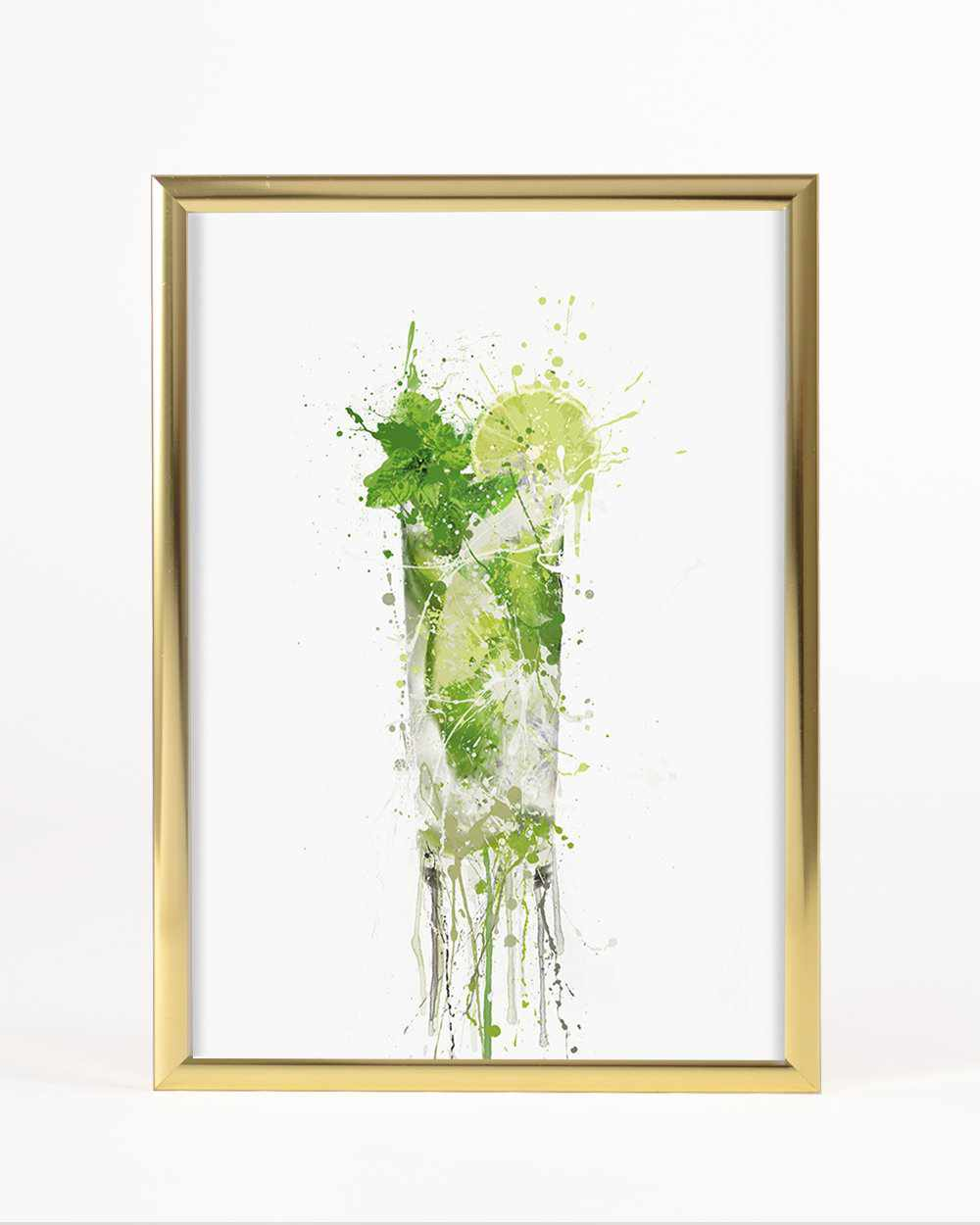 Mojito Cocktail Wall Art Print
